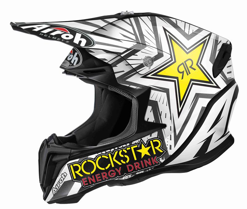 Airoh Twist Rockstar