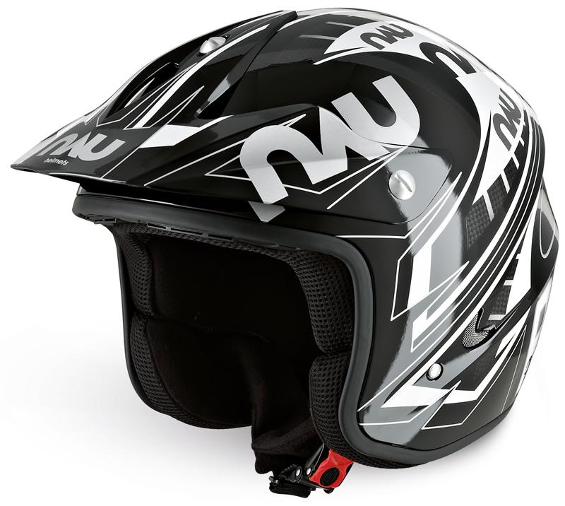 Nau Power Helmet (Black/White)