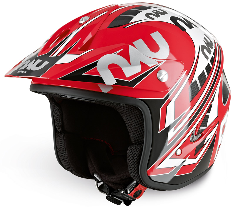 Nau Power Helmet (Red/Black)