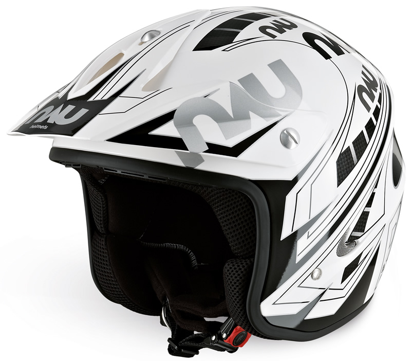Nau Power Helmet (White/Black)
